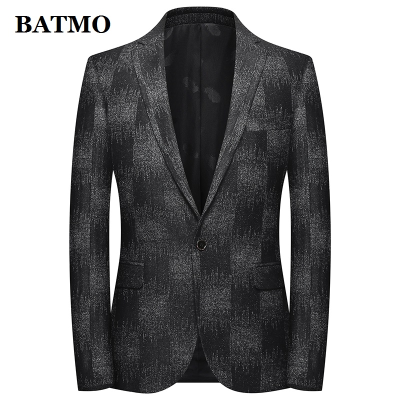 BATMO 2019 New Arrival Autumn High Quality Wool Casual Blazer Men,men's Wool Jackets,plus-size M-4XL 1971