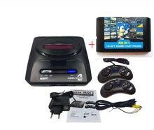 SEGA-consola de videojuegos MD2 de 16 bits, con interruptor de modo EE. UU. Y Japón, para manijas originales de SEGA, exporta Rusia con 830 juegos en 1