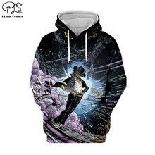 PLstar Cosmos Michael Jackson/Macaulay Culkin 3D Printed Hoodie/Sweatshirt/Jacket/shirts Mens Womens hip hop Spacewalk style-3