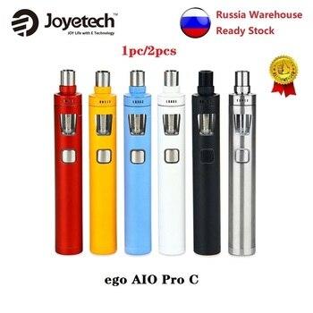 Оригинальный стартовый набор Joyetech ego AIO Pro C с баком 4 мл комплект электронных сигарет без аккумулятора 18650 электронная сигарета Vape Kit Vs ijust 3