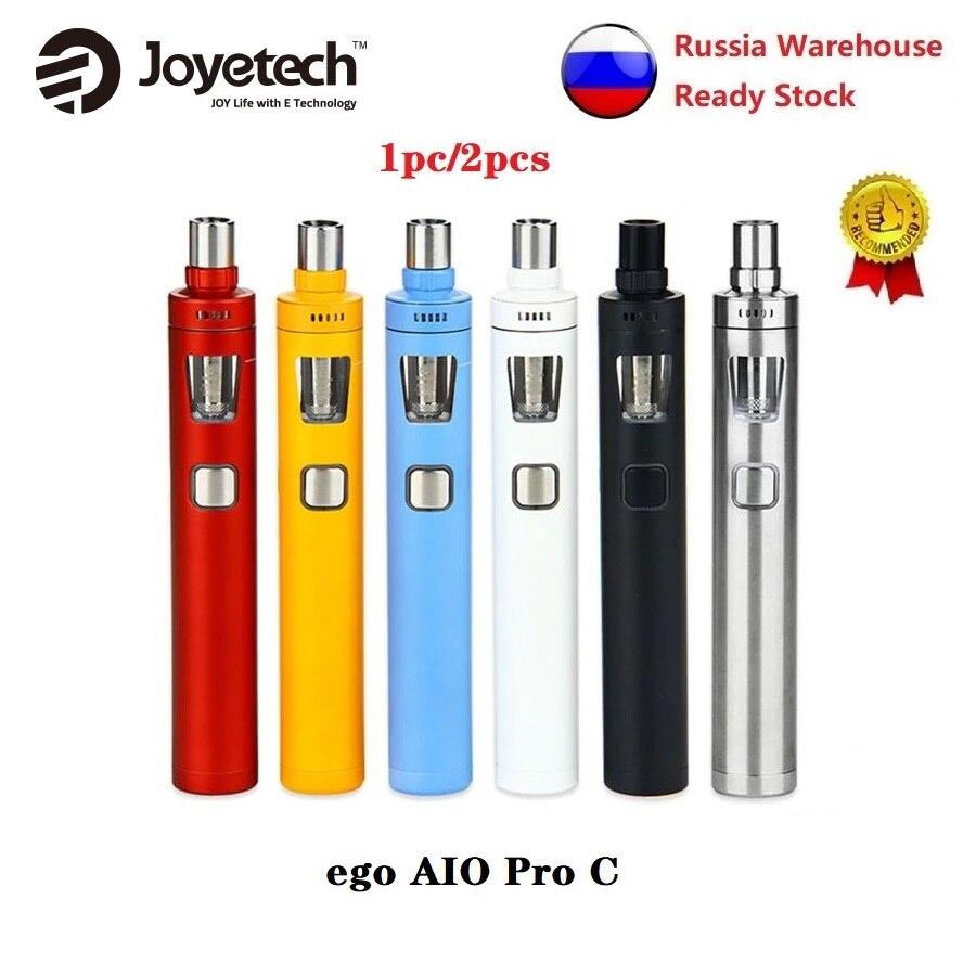 Original Joyetech Ego AIO Pro C Starter Kit With 4ml Tank Electronic Cigarettes Kit NO 18650 Battery E-cig Vape Kit Vs Ijust 3