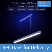 Yeelight LED Intelligent Pendant Lights For Xiaomi Mijia Intelligent APP Voice Control Modern Pendant Ceiling Lamp Home Decor(China)