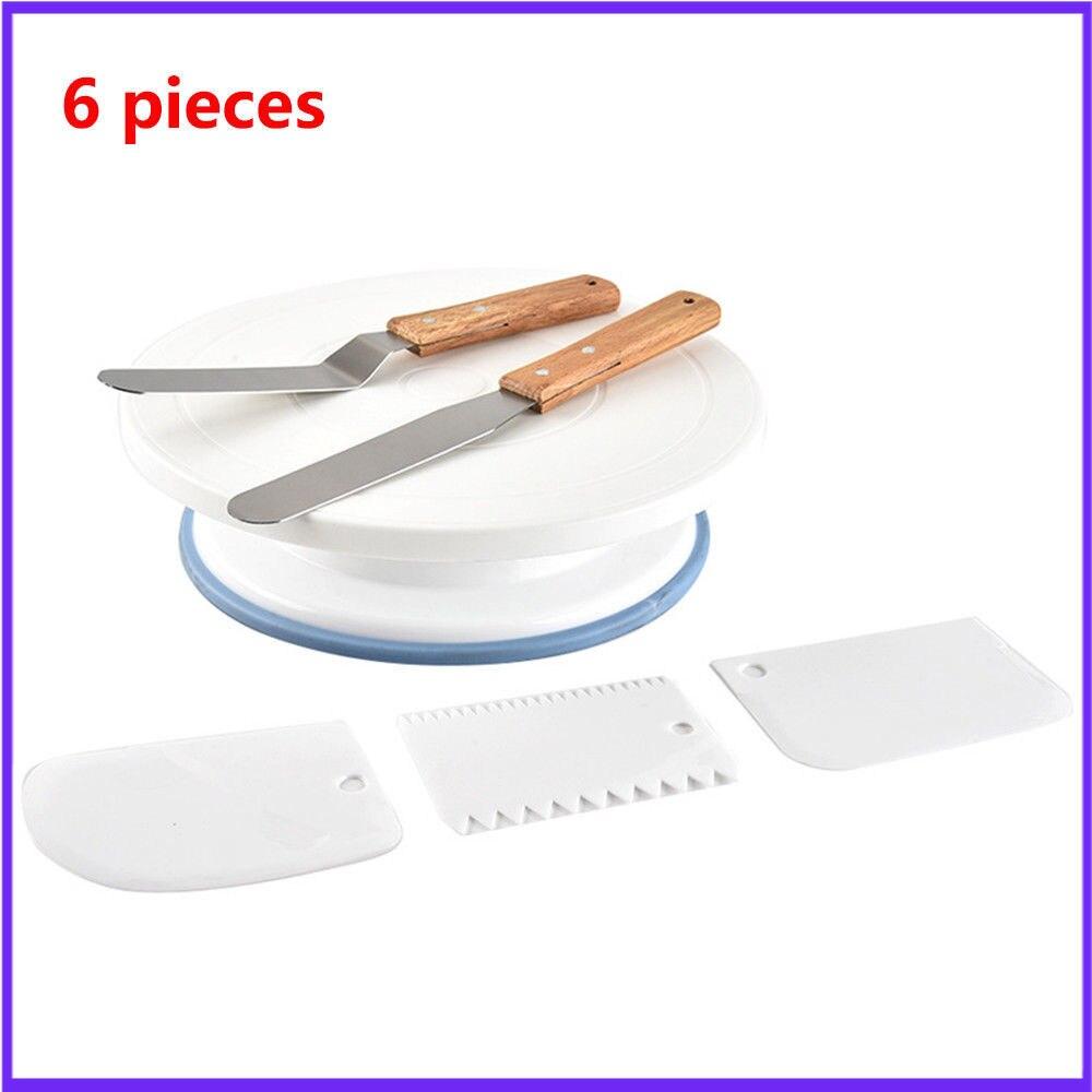 10 дюймов пластиковая подставка для украшения торта поворотный стол вращающийся шпатель тесто нож для украшения крема торт поворотный стол горячая распродажа|Стойки|   | АлиЭкспресс