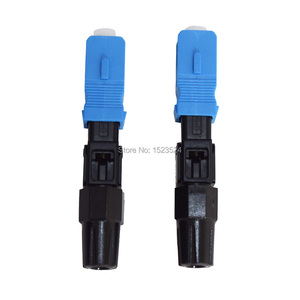 Image 4 - Livraison gratuite 100 pcs/lot FTTH SC/UPC unique SC/UPC connecteur rapide FTTH Fiber optique connecteur rapide SC connecteur rapide