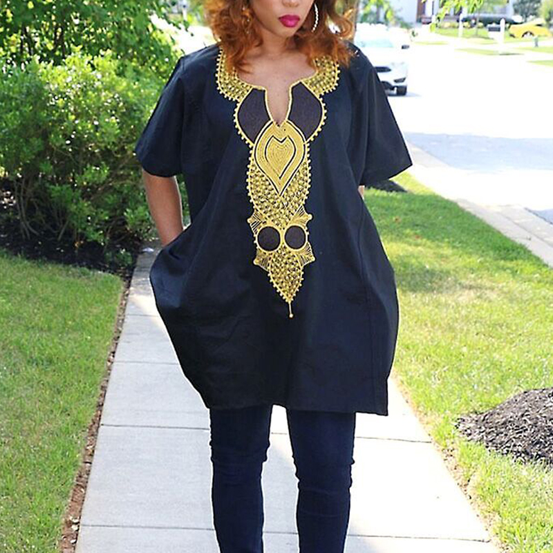 Plus Size Spring Woman Suit Black African Lady Clothing Riche Bazin Women  Dashiki Suits Tops Pant Embroidery Outfit Set