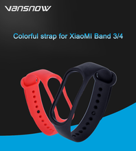 купить Smart bracelet For Mi band 4 3 Strap Replacement Belt Silicone Wristband for Mi Band 4 3 Smart Bracelet For Xiaomi Accessories дешево