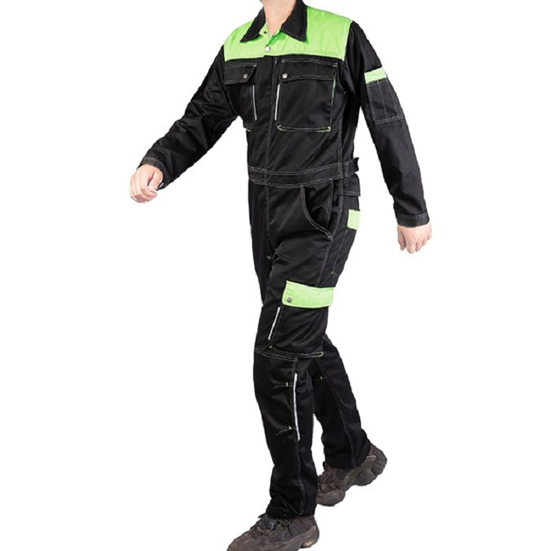 Functional Welding suit coveralls Wear-resistant jumpsuit labor insurance auto machine repairmen uniform multi pockets overalls