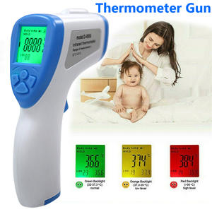 Digital-Thermometer Forehead Infrared Portable Non-Contact LCD Adult Baby D20 Backlight