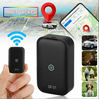 GF21 Mini GPS Real Time Car Tracker Anti-Lost Device Voice Control Recording Locator HD Microphone WIFI+LBS+GPS Pos Locator 3