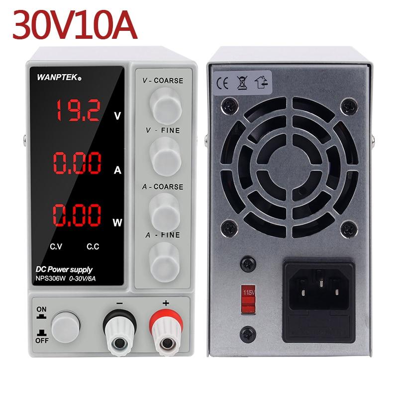 NPS3010W laboratoire alimentation 30V10A régulateur de courant alimentation réglable banc Source numérique commuté Source tension