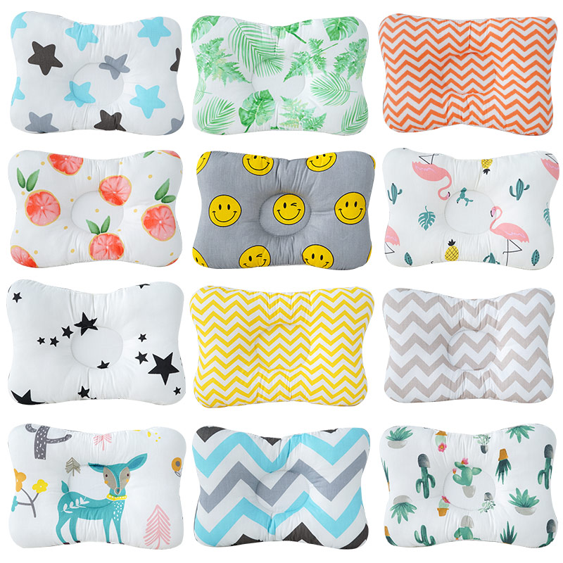 Dropshipping Infantil Baby Pillow Newborn Anti Rollover Head Protection Mattress Fashionable Baby Bed Sleeping Positioning Pad