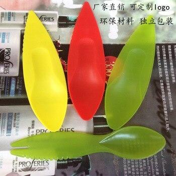 Kiwifruit Spoon Sub-Kiwi Fruit Spoon Fruit Spoon Practical Logo