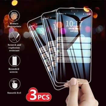 Перейти на Алиэкспресс и купить 3 шт. закаленное стекло для Xiaomi Redmi Note 8 9 PRO MAX 8T 9S 7S Защитная крышка для экрана Redmi 8 8A 10X K30i 5G защитная пленка 9H