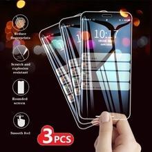3 Pcs Tempered Glass For Xiaomi Redmi Note 8 9 PRO MAX 8T 9S 7S Screen Protector Cover Redmi 8 8A 10X K30i 5G Protective 9H Film