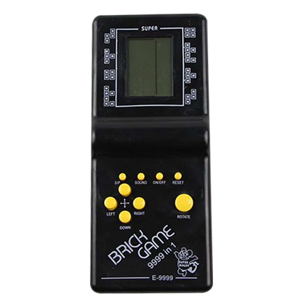 Classic Nostalgic Tetris Brick Handheld LCD Video Games Toy Machine Arcade Mini Games Console Mini Games Box Games Consoles