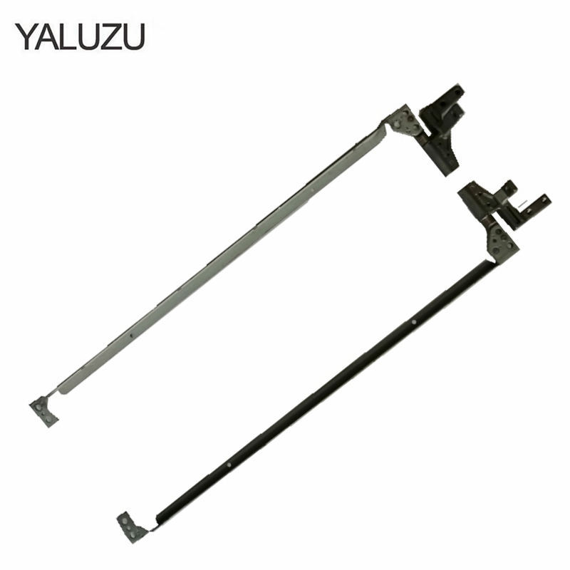 YALUZU Laptops Replacements LCD Hinges Fit For <font><b>HP</b></font> <font><b>6510b</b></font> 6515b PN: 6053B0162101 6053B0162201 Notebook LCD L+R Set Hinges Replacem image