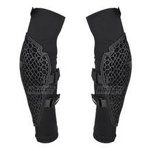 Black Motorcycle Hand Sleeve Protector Pads Soft Elbow Pads Protector Motocross Racing Elbow Guard Protective Gear Moto Unisex