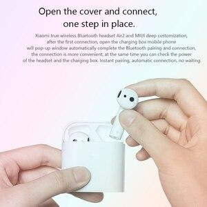 Image 2 - Xiaomi אוויר TWS Bluetooth אוזניות 2 Airdots פרו 2 Xiaomi חכם קול שליטה LHDC HD צליל דינמי שליטה ברז ENC