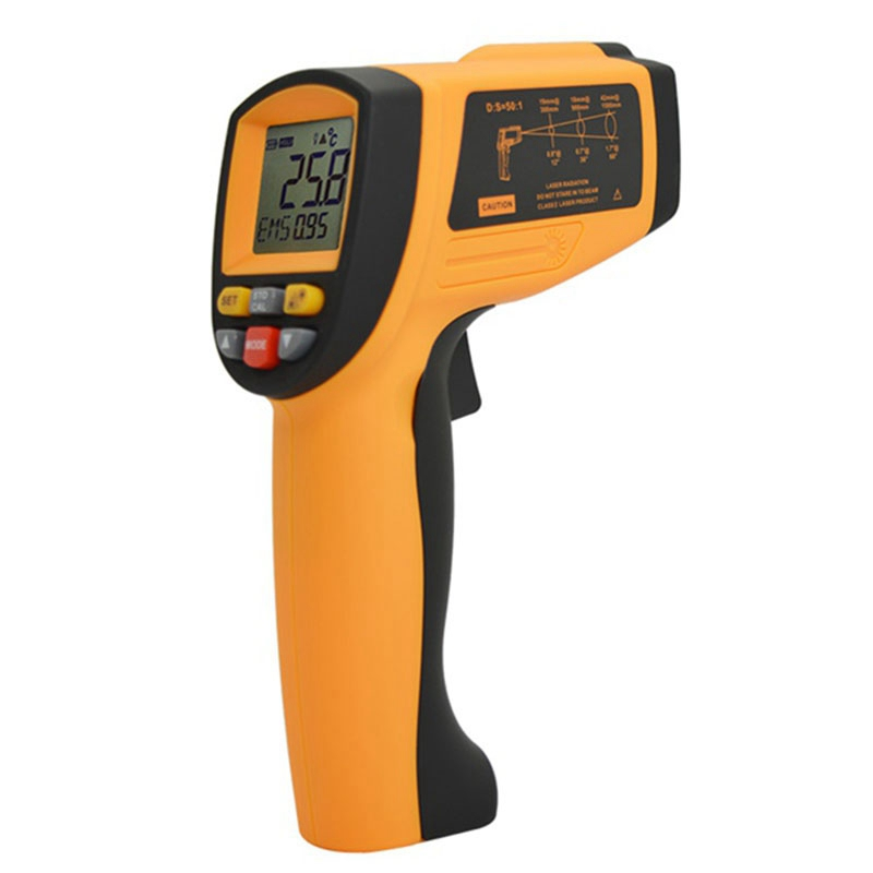 Digital Infrared Thermometer Non Contact Pyrometer IR -30-1500 Degree For Industrial Use GM 1500
