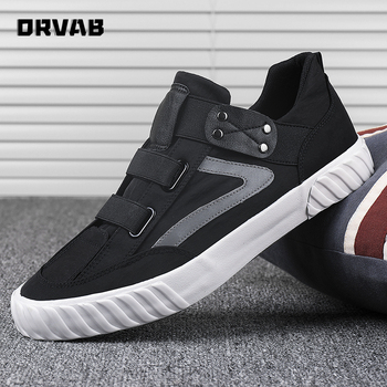 Men Canvas Shoes Tenis Masculino Adulto Fashion Slip On Breathable Casual Shoes Youth Boys All