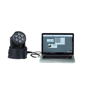 Image 2 - Adaptador de Interfaz de Usb a Dmx, iluminación de escenario, interfaz Dmx para Dj, discoteca, haz de luces de fiesta Usb, interfaz Led Dmx 512