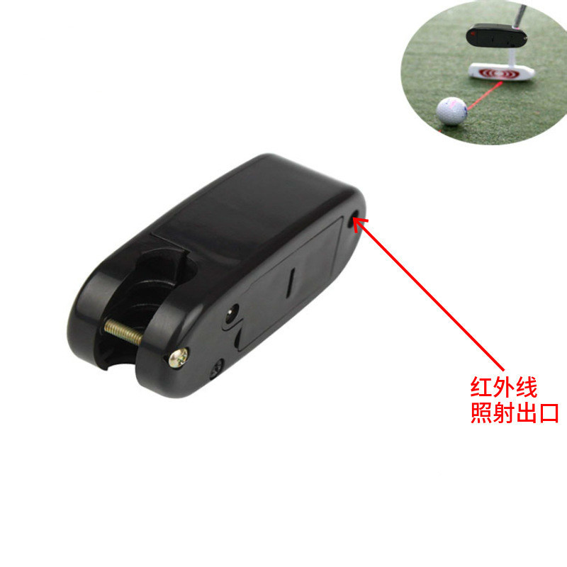 Black Golf Putter Laser Pointer Putting Training Aim Line Corrector Improve Aid Tool Practice Golf Accessories