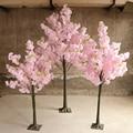 Искусственное растение вишни, искусственный цветок, дерево для гостиной, отеля, свадьбы, украшение для дома, Вишневое дерево