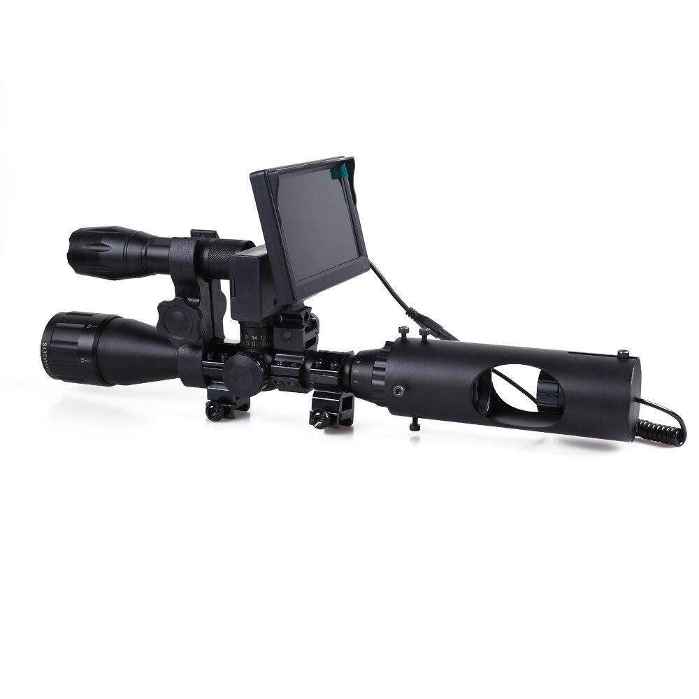 Nachtsicht Zielfernrohr Jagd-bereich Optics Anblick 850nm Infrarot IR Im Freien Wasserdichte Gewehr Nachtsicht Gerät Falle Kamera