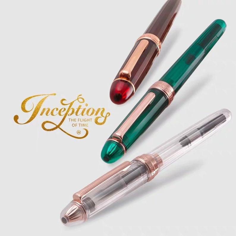 Business-Fountain-Pen-Japanese-Style-NATAMI-Ink-Pen-F-Nib-Converter-Filler-Stationery-Office-school-supplies (2)