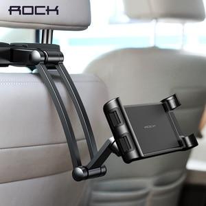 Image 1 - ロックユニバーサルホルダータブレット PC オートカーバックシートヘッド取付ホルダータブレットのための 4.7 10.5 インチアプリ xiaomi サムスン