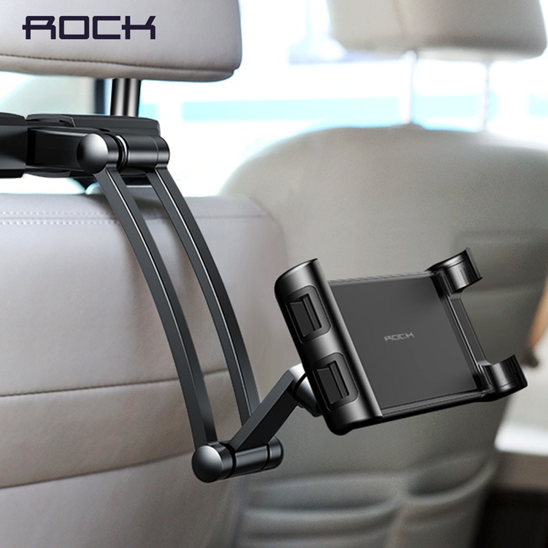 ROCK Universal Holder For Tablet PC Auto Car Back Seat Headrest Mounting Holder Tablet For 4.7-10.5 Inch For IPad Xiaomi Samsung