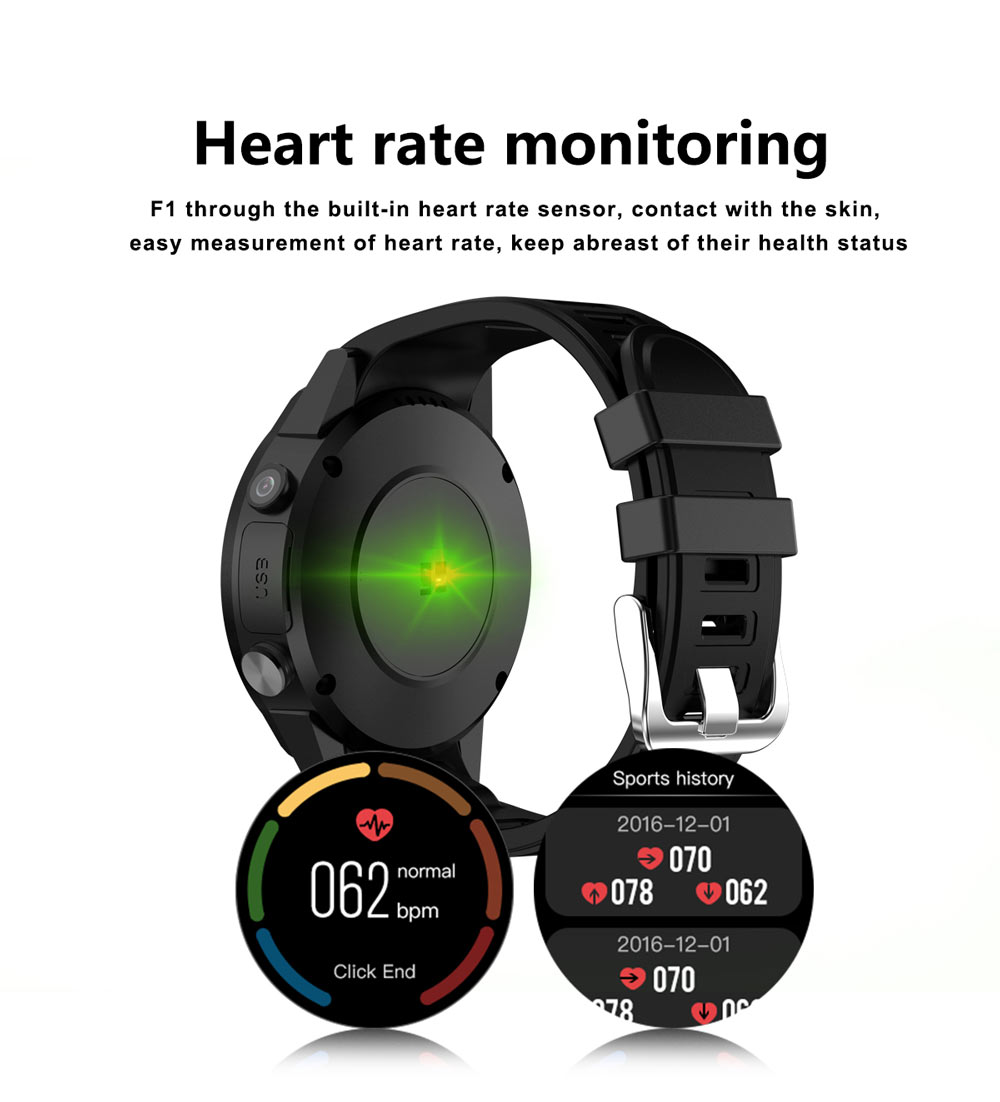 H81b3505ea1694a53a24e614752445625u - GPS Smart Watch Men With SIM Card Camera F1 Smartwatches Heart rate detection Sport phone connected watch android iOS Clock