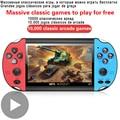 Ретро Игровая приставка портативный игровой портативный мини Аркады видеоигры электронная машина Retrogame Play Vidio