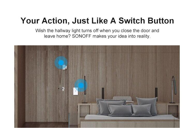H81b375cdf17f46a1a27ad104fa9b6677g - SONOFF ZigBee Bridge Wireless Door/Window Sensor Alert Notification Via EWeLink APP Control Smart Home Security Switch