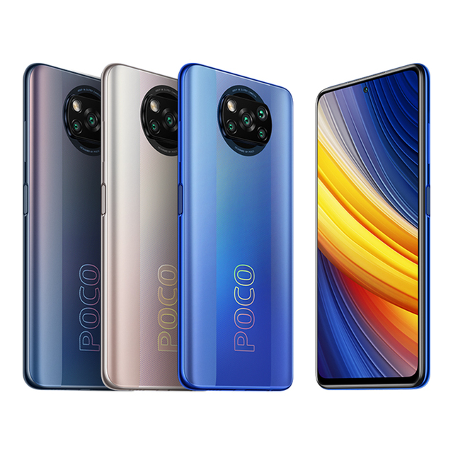 "Global Version POCO X3 Pro 8GB 256GB Snapdragon 860 Quad AI Camera 6.67"" 120Hz DotDisplay 5160mAh 33W Charge NFC 2"
