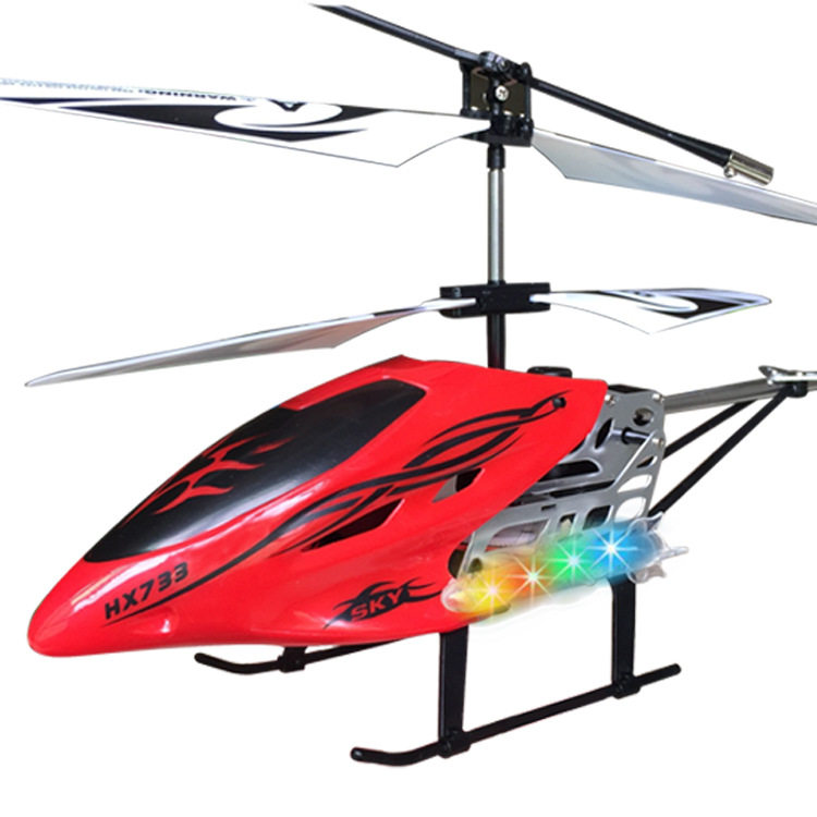 Manufacturers Direct Selling Hot Selling 3-Channel Remote Control Aircraft Children Drop-resistant Chargeable Wireless Helicopte