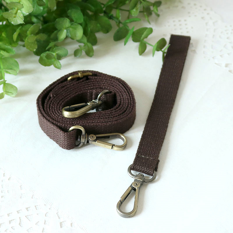 Original Pure Color Shoulder Bag Strap Halter Long Strap Short Strap Ladies Bag Accessories Adjustable Crossbody Handle Bag Hand