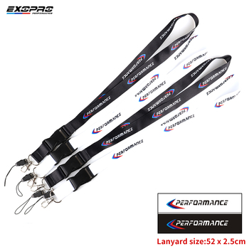 Car Performance Lanyard ID Holders Cell Phone Neck Straps for Bmw E36 F30 M2 M3 M4 M5 M6X 320i image