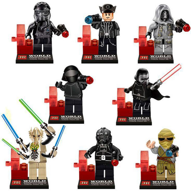 Star Wars The Force Awakens Mini Building Blocks Figures 2