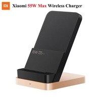 Original Xiaomi Vertikale luftgekühlte Drahtlose Ladegerät 55W Max-Lade Qi Stand Horizontale für xiaomi mi 10 mi 9 für iphone