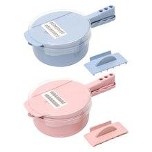 Siekacz do warzyw nóż i kostki ręczne urządzenie do siekania żywności Veggie Chopper sałatka cebula nóż do ziemniaków kuchnia rzeczy gadżety do gotowania