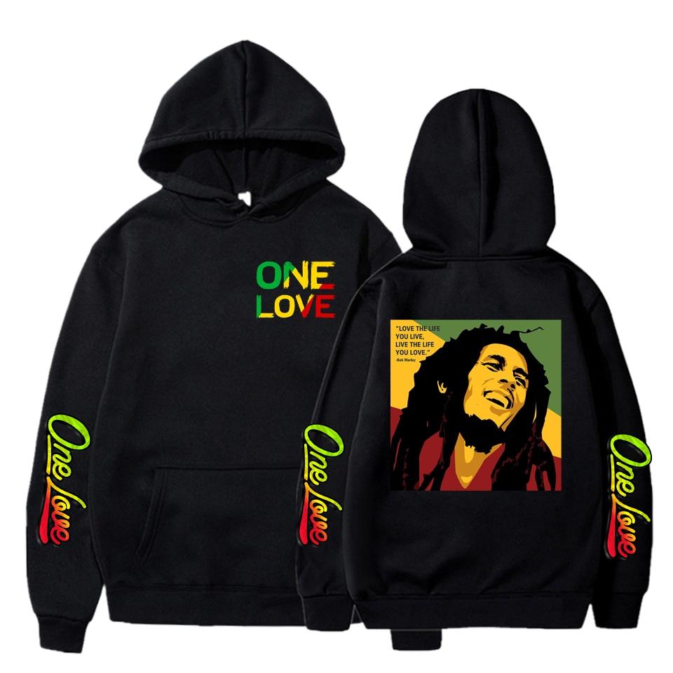 Hoodies Bob Marley Hoodies Sweatshirt