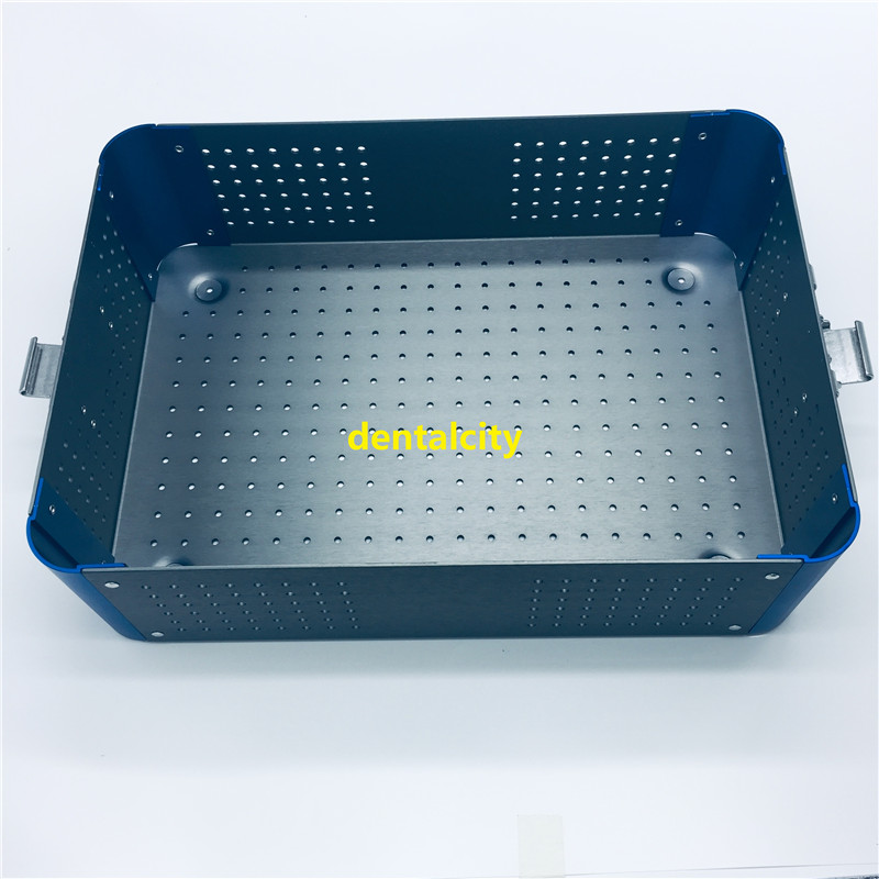 Sterilization case disinfection tray box for surgical instrument tools dental sterilizing