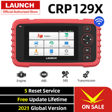 Launch X431 CRP129X OBD2 Scanner Engine ABS SRS AT Diagnostic Tool Oil SAS EPB TPMS Reset Creader 129X OBDII Code Reader CRP129