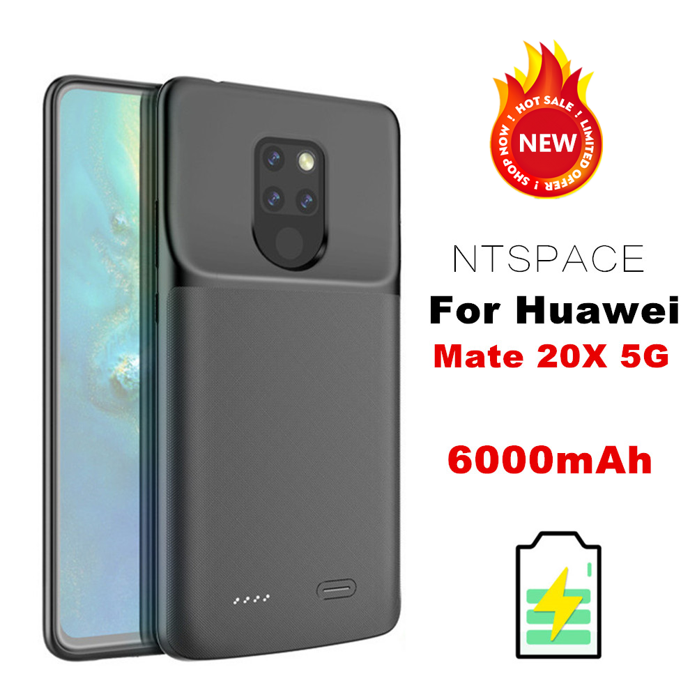Battery-Charger-Cases Huawei 6000mah Slim Ultra NTSPACE For Mate 20x5g/external-Battery-Power-Bank
