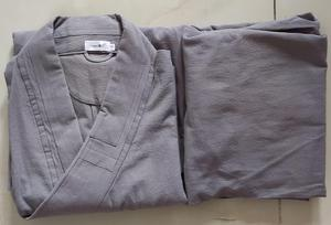 Image 4 - Unisexe coton lohan vêtements ensembles bouddhiste moine costumes robesmartial arts/kung fu uniformes bouddhisme arhat vêtements gris