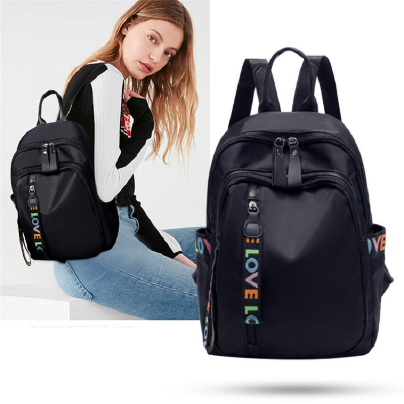 Women Backpack High Quality Nylon Women Bag Fashion School Bags Large Capacity Knapsack Casual Travel Bags Anti-theft Daypack