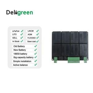 Image 4 - Балансировочный эквалайзер QNBBM для литиевой батареи, 8S, 24 В, балансировка lifepo4, LTO, NCM, LMO 18650, комплект «сделай сам», балансировка напряжения