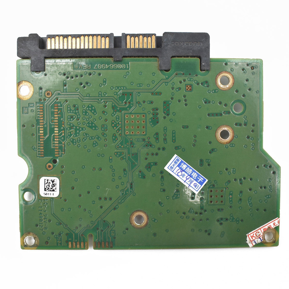 100664987 Circuit Board Printed PCB HDD Replacement Logic Controller Practical Durable Green Data Recovery For <font><b>ST2000DM001</b></font> image
