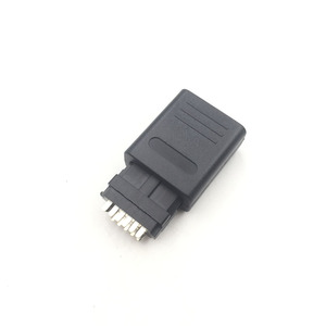 Image 4 - 20SETS  For SNES N64 12Pin Multi Out Port   Connector Male Cable  Connector/Plug AV Repair Interface Adapter For Game Cube